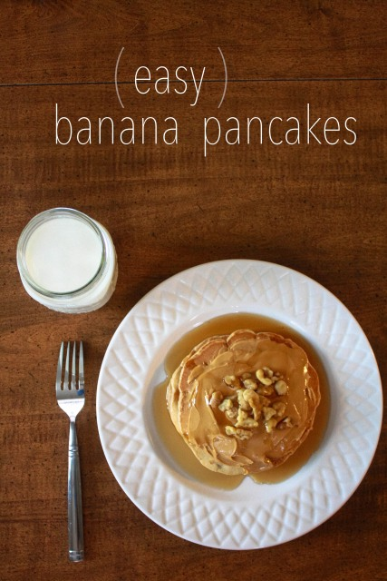Daily Sprinkles Easy Banana Pancakes