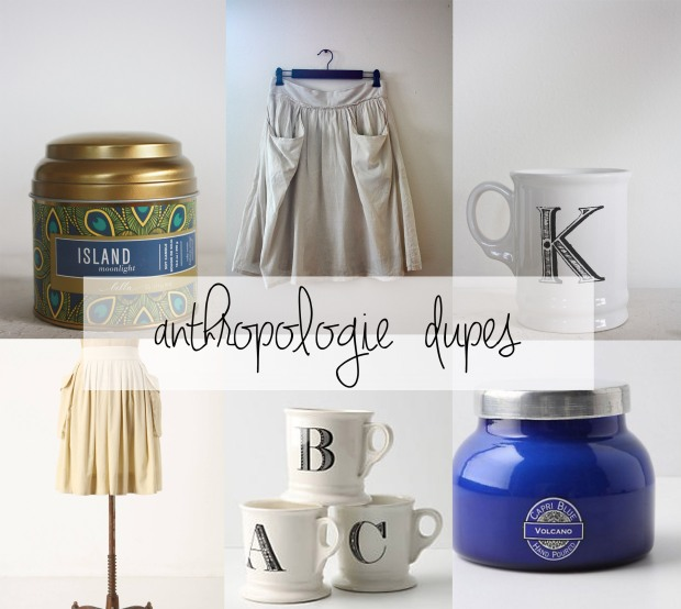 Anthropologie Dupes