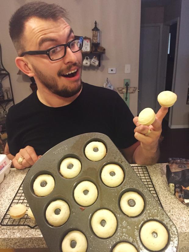 Finger cupcakes