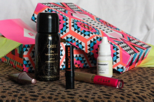 Birchbox July 2015-2