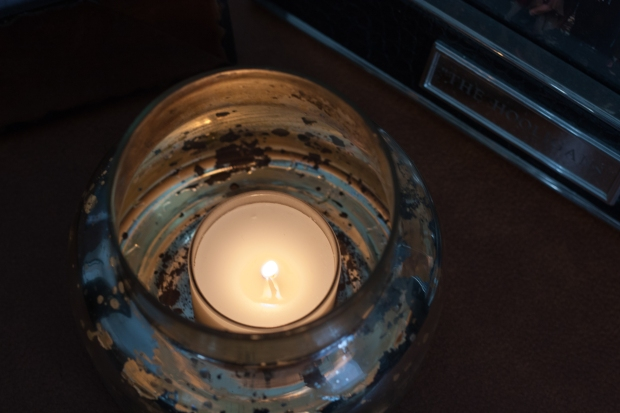 Capri Blue Candle Upcycle